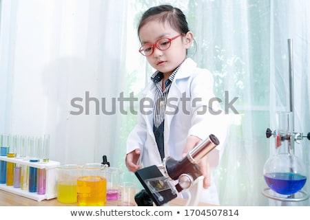 Cientista experiência branco médico químico profissional Foto stock © wavebreak_media