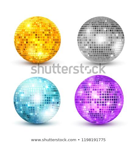 Disco Ball вечеринка вектора Лучи дискотеку свет Сток-фото © m_pavlov