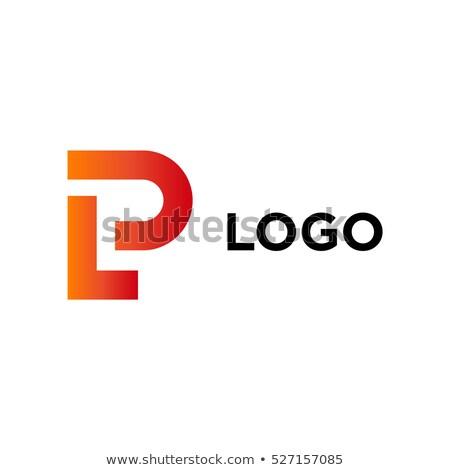 letter lp logo logotype vector Stock photo © blaskorizov