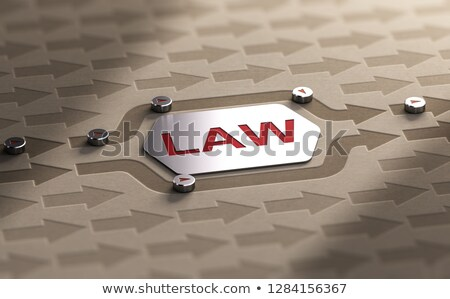 Stock photo: To Circumvent The Law, Fraud Concept