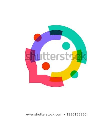 people logo business team sign vector element symbol Stock photo © blaskorizov