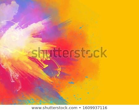 Gelukkig water ballonnen kleurrijk splatter achtergrond Stockfoto © SArts