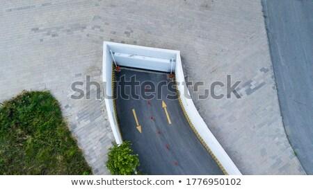 地下 ガレージ 現代 車 駐車場 技術 ストックフォト © lightpoet