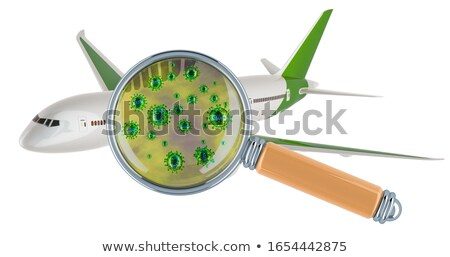 Chinese airplane on white background. Isolated 3D illustration Stock photo © ISerg