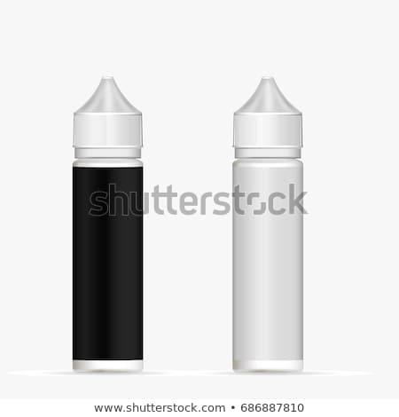 Vaping liquid bottle Stock photo © montego