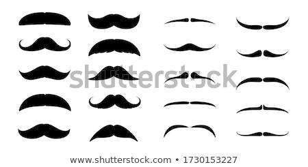 Moustache icon illustration design Stock photo © Ggs