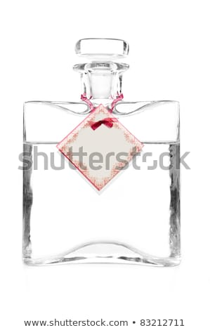 Carafe With Vodka And Empty Cotillion On It Foto stock © tarczas