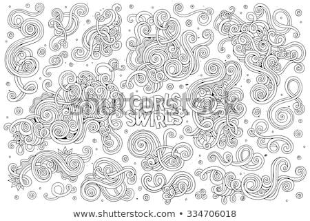 curling petal stock photo © lovleah