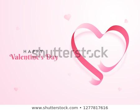 Heart shape ribbon stock photo © leeser