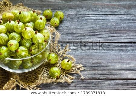 Vers groene geïsoleerd witte vruchten natuur Stockfoto © Gbuglok