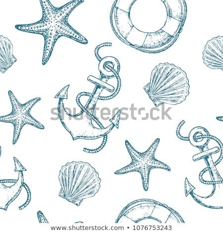 abstract starfish detail stock photo © prill