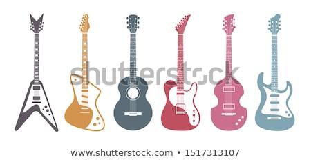 Guitar Fingerboard Stock photo © zhekos