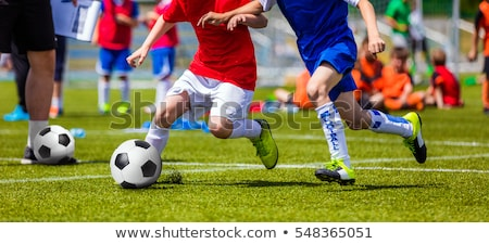 A group of young athletes Stock photo © photography33