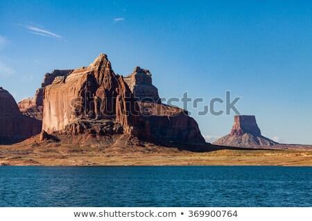 Wahweap Bay Red Rocks Lake Powell Glen Canyon Recreation Area Arizona Stock photo © billperry