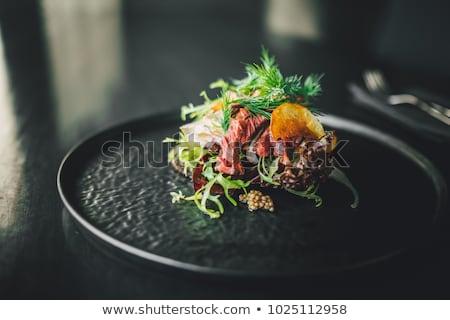 gourmet food Stock photo © dacasdo