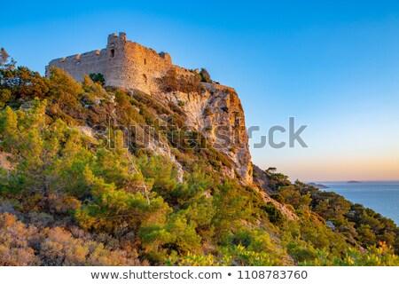 Rhodes afterglow Stock photo © tuulijumala
