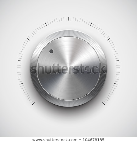 volume · bouton · musique · metal · texture - photo stock © archymeder