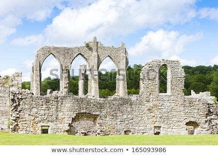 遺跡 · 修道院 · イングランド · 建物 · アーキテクチャ · ゴシック - ストックフォト © phbcz
