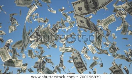 Сток-фото: деньги · падение · небе · многие · евро