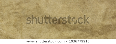 Stock photo: Old Military Bag