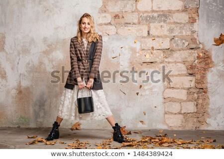 fetisch · model · poseren · zwarte · latex - stockfoto © 26kot