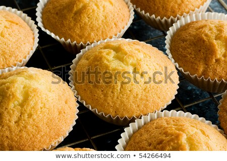 Home made vanilla cake prepare for baking Stock photo © nalinratphi