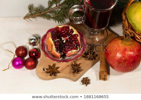 pomme · anis · cannelle · vert · Noël · balle - photo stock © Rob_Stark