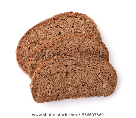 Three sliced rye bread Stock photo © OleksandrO