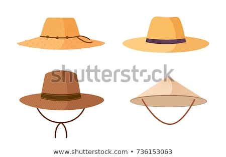 Farmers hat graphic Stock photo © shawlinmohd
