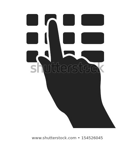 verde · acessar · botão · negócio · computador - foto stock © tashatuvango