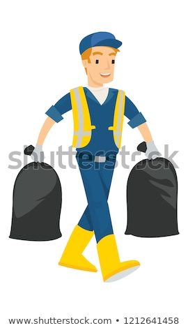 Two trash bags Stock photo © bluering