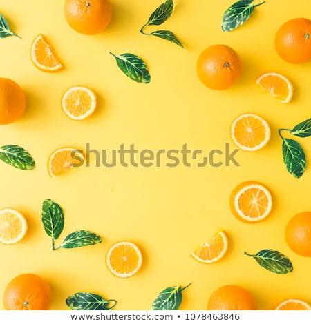 Zdjęcia stock: Soczysty · pomarańczowy · streszczenie · jasne · wektora · projektu