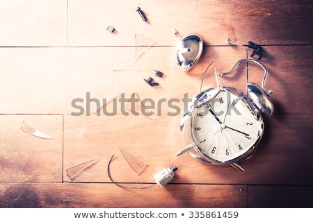 Stock photo: Smashing a clock