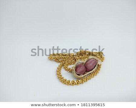 Stok fotoğraf: Altın · somun · yalıtılmış · altın · kadın · vida