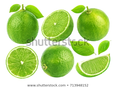 Fresh lime halves and wedges Stock photo © Digifoodstock