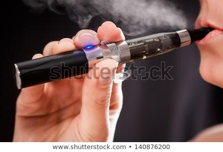 elektromos · cigaretta · izolált · fehér · egészség · elektronikus - stock fotó © oleksandro