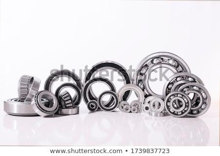 Isolado branco trabalhar metal indústria equipe Foto stock © kitch