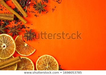 orange with spices Stock photo © Digifoodstock