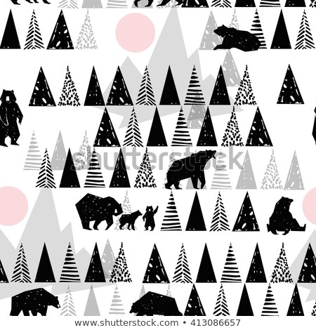 Бурый медведь Аляска млекопитающих ткань Сток-фото © popaukropa