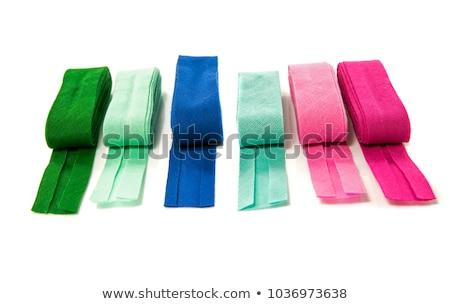 bias binding in blue green and purple Stock photo © compuinfoto