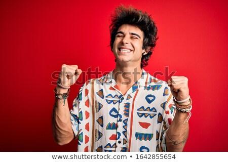 a very happy man Stock photo © rogistok