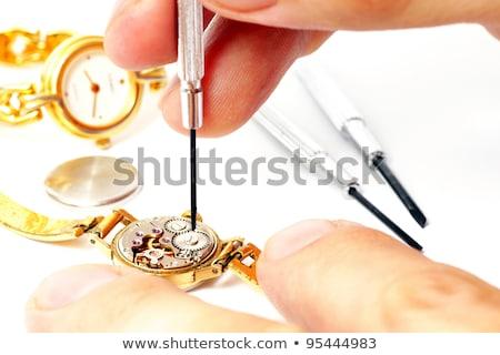 Horologist repairing a watch Stock photo © wavebreak_media