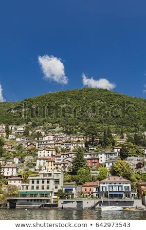 Italië water natuur landschap gebouwen Stockfoto © boggy