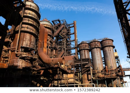 rusty industrial scenery Stock photo © prill