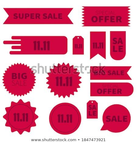 En iyi black friday fiyatlar dükkanlar vektör sunmak Stok fotoğraf © robuart