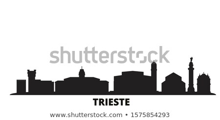 city of trieste waterfront and harbor view stock photo © xbrchx