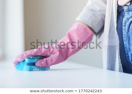 губки молодые мужчины тесные глина банка Сток-фото © pressmaster