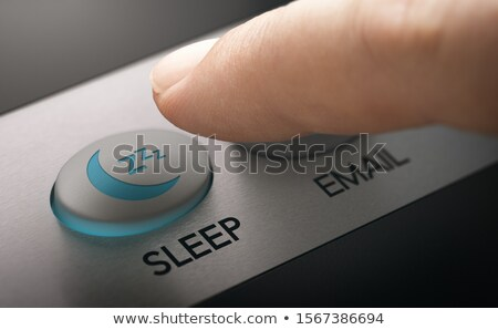 Switch Computer To Sleep Mode Stock photo © olivier_le_moal