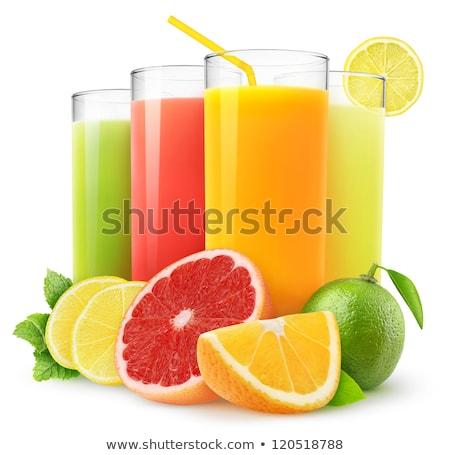 грейпфрут свежие сока иллюстрация продовольствие стекла Сток-фото © olegtoka