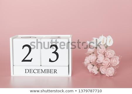 Cubes 23rd December Stock photo © Oakozhan